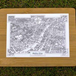 Fantasy Map of Dublin City