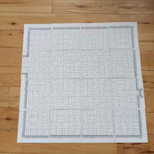 Hand Drawn OSR Dungeon Tiles (double sided) – Room BUMPER Pack (x16)