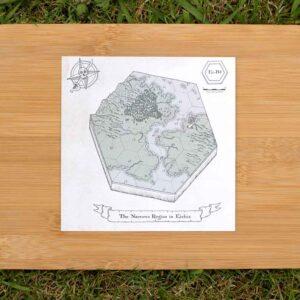 Ei-B4: The Narrows Region – Gwrthod Hex Map