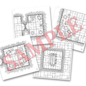 Mini Pack 1: Loot & Treasure (double sided dungeon tiles)