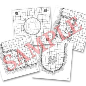 Mini Pack 2: Summoning Circles and Altars (double sided dungeon tiles)