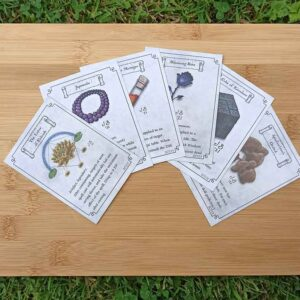 Item Card Pack 5 (contains 6 magical items)