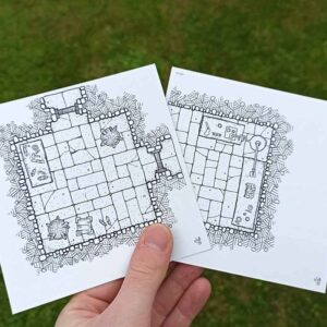 Mini Pack 3: Reagents and Laboratories (double sided dungeon tiles)